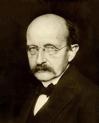 Max Planck (1848-1957). Desarrolló la matemática de la mecánica cuántica.