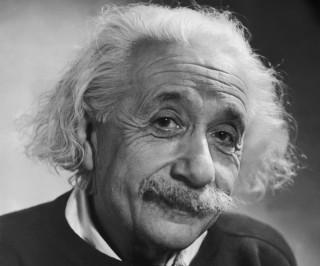 Albert Einstein, creador de la teoría de la relatividad.