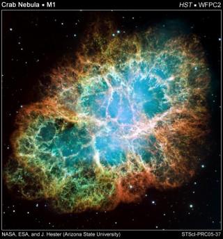 Así se forma el polvo de estrellas, mediante una supernova